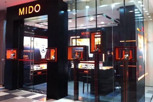 香港美度专卖店的外观展示